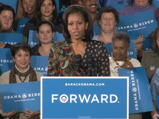 Watch: Michelle Obama on Role in President's Campaign