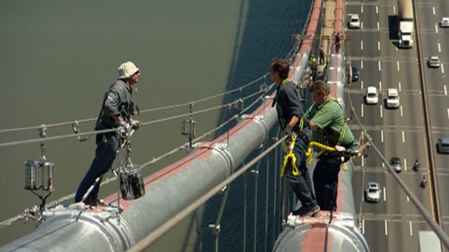 George Washington Bridge Painters: Dangerous Job on Top of the ...
