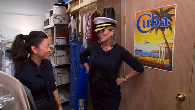 VIDEO: Nightlines Cynthia McFadden tours the costume closet of ABCs new show.