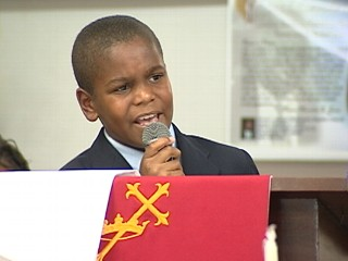 Watch: Boy Preacher Just Answering God's Will