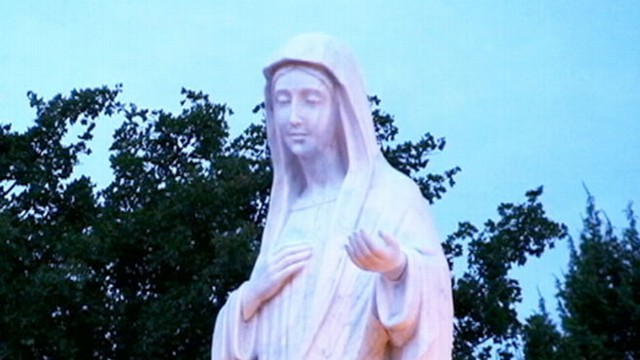 VIDEO:  Believers say Mary sends them to Medjugorje through signs and miracles.
