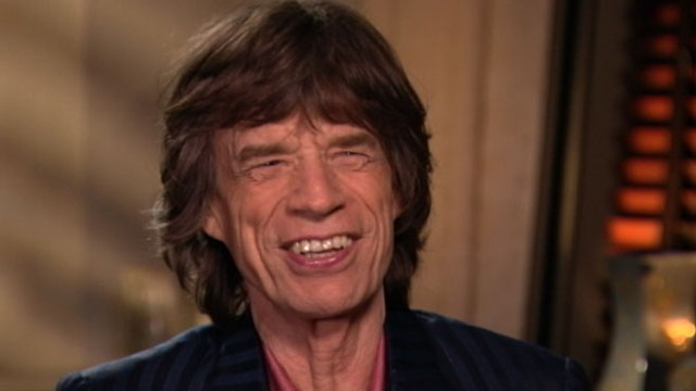"VIDEO: Rolling Stones frontman says the two have a ""great working relationship."""