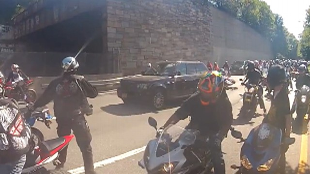 Bikers Road Rage Road Rage NYC Motorcycle