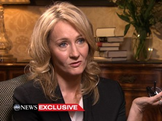 Watch: JK Rowling on US Politics: 'We Built It' Made Her 'Uncomfortable'