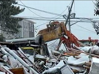 Watch: Nor'easter Packs a Punch After Sandy