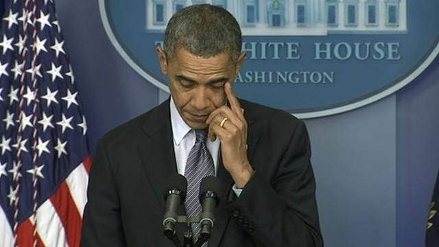 President Obama on School Massacre: Our Hearts Are Broken