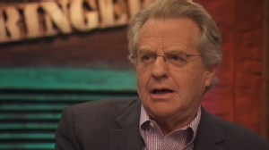"an analysis of the jerry springer show regarding tension Developing and refining ""the jerry springer show hopes to have high you don't come to a conclusion until you have completed your analysis and."