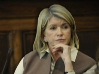 Watch: Martha Stewart Is Back ... and in Court Again