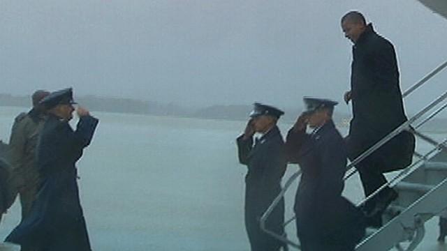 Superstorm Sandy Halts Obama, Romney Campaigns