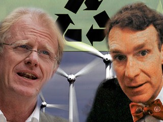 Ed Begley and Bill Nye
