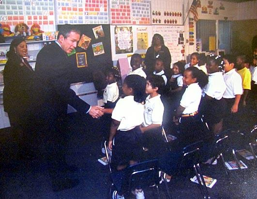 Bush Kids Reading on 9/11, Then & Now