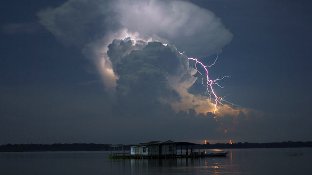 PHOTO:A mysterious symphony of rapid fire lightning bolts used to create the greatest light show on Earth over the Catatumbo River in Venezuela, until suddenly they stopped and no one knew why.