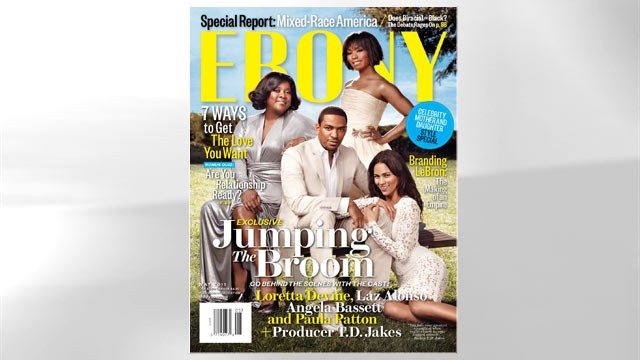 PHOTO: The Cover of the May 2011 issue of &quot;Ebony&quot; magazine.