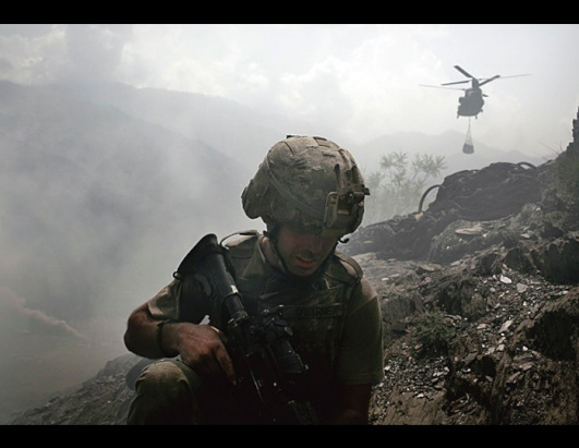 Author, photographer shows the lives of platoon in Afghanistan
