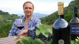 PHOTO In addition to cooking for the pope, chef Lidia Bastianich has her own wine label.