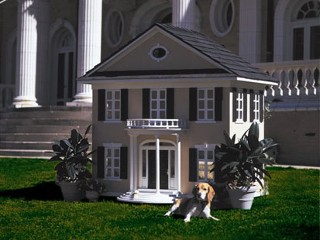 Don burleson blog dog house mansion ideas - Luxury outdoor dog houses ...