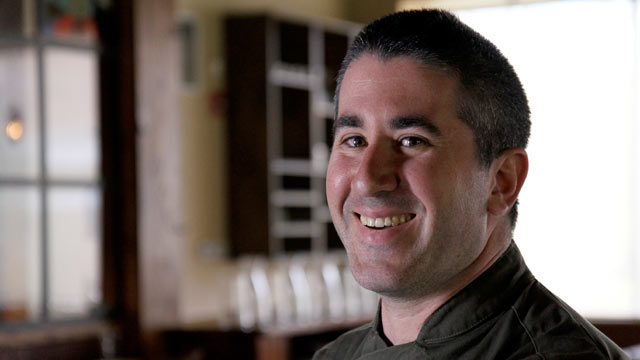 PHOTO: Michael Solomonov, executive chef at Zahav, in Philadelphia, Pa.