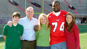 excerpt the blind side by michael lewis abc news courtesy the tuohy family