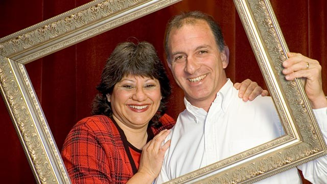 PHOTO: Steve and Annette Economides