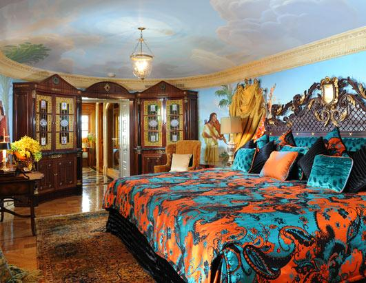 Versace Mansion An Inside Look Photos ABC News. Versace Bedroom