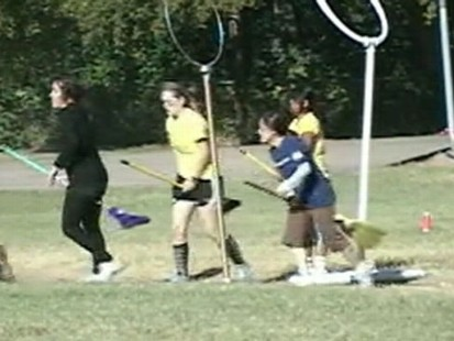 VIDEO: Quidditch on Campus