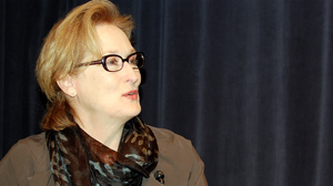 PHOTO Actress Meryl Streep visited the University of Texas theater department to offer advice to future actors.