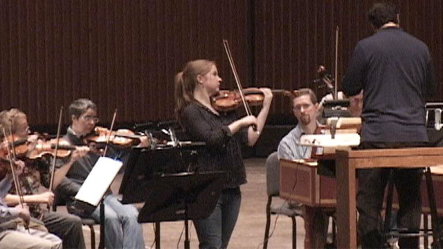 Photo: Syracuse Symphony string musicians
