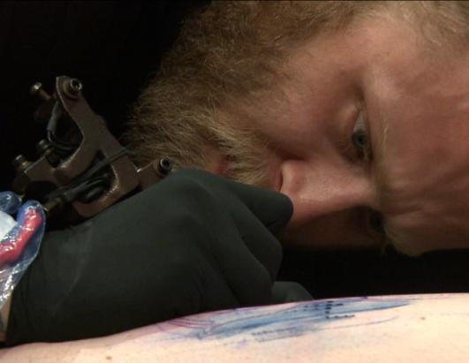 Some tattoo fanatics came to Phoenix specifically to be tattooed by their