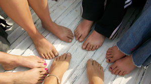 PHOTO Barefoot Hikers of Virginia