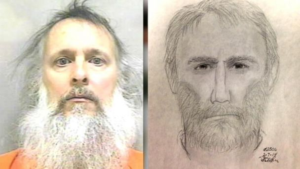 ABC charles severance serial killer mugshot split h jt 140315 16x9 608 Convicted Felon Jailed on Weapons Charges Resembles Sketch of Wanted Killer