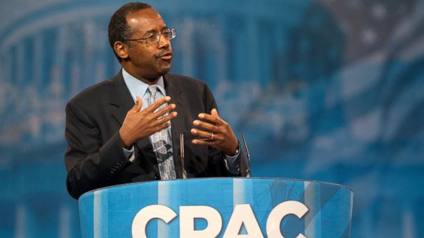 PHOTO: Dr. Ben Carson during the 2013 Conservative Political Action Conference at the Gaylord National Resort & Conference Center at National Harbor, Md., March 16, 2013.
