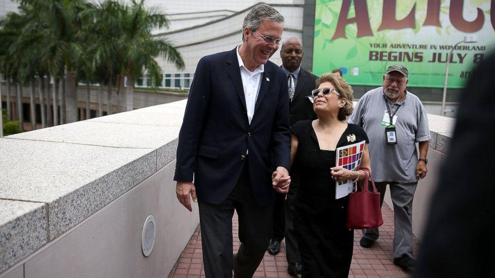 how tall is bush wife