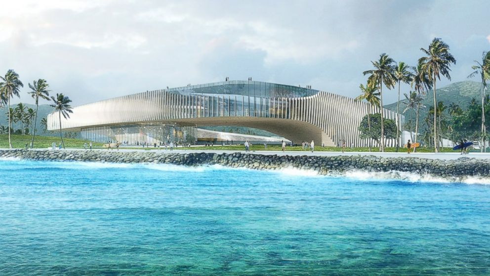 Obama As Coral Polyp Inside Hawaiis Bid For His Legacy Library - Hawaii architecture firms