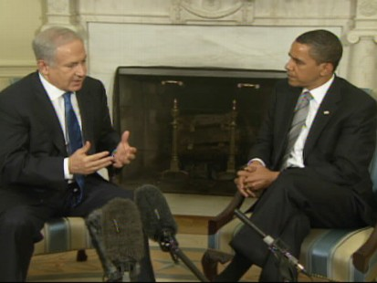President Obama Met with Israels Prime Minister Today