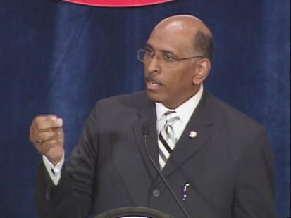 GOP Chairman Michael Steele Calls for Republican comeback.