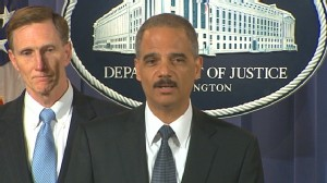 Video of Eric Holder holding presser about Times Square bombing attempt.