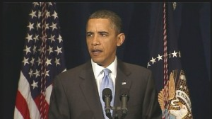 Video of President Obama addressing bombing attempt in Times Square.