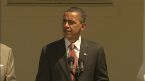 Video of President Obama signing memorandum on new fuel efficiency standards for cars and trucks.