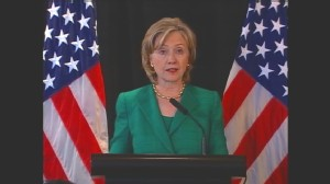 Video of Secretary of State Hillary Clinton speaking about North Korea