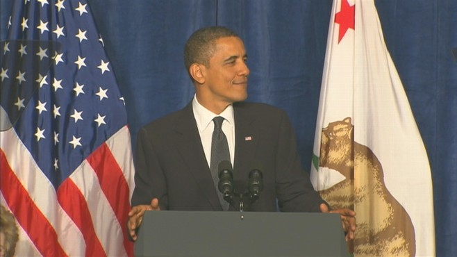 Video of President Obama at San Fransico fundraiser for Senator Barbara Boxer.