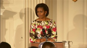 Video of Michelle Obama Choking Up About Her Mommy