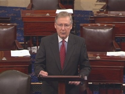 Video of Senator Mitch McConnell on the Senate floor