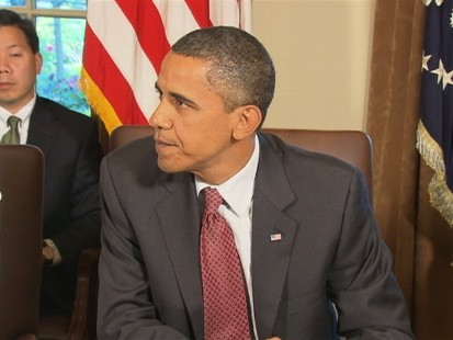 VIDEO of Obama Addressesing the McChrystal Controversy