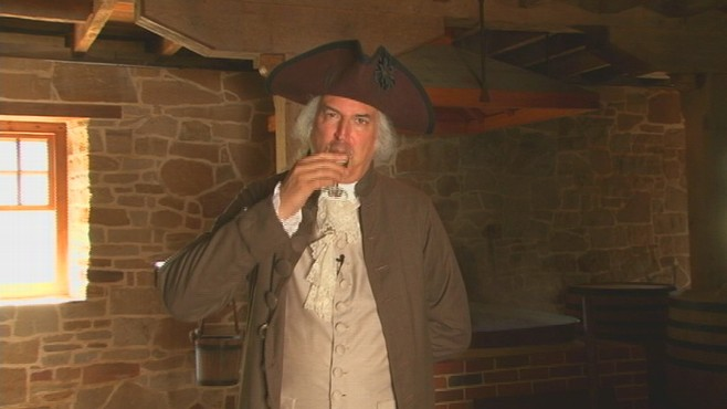VIDEO of Mount Vernon, where George Washington's rye whiskey recipe is being recreated for public consumption.