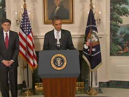 VIDEO of President Obama Announcing New OMB Director