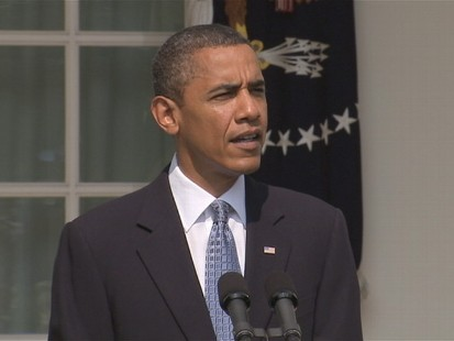 VIDEO of Obama saying success capping spill is good news, not to get ahead of ourselves