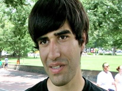 Video of gay Iranian immigrant facing deportation.