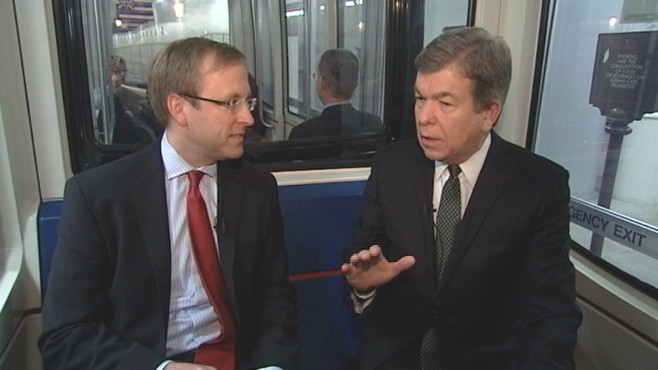 VIDEO of Senator Roy Blunt talking with Jonathan Karl about the deficit, Libya and 2012
