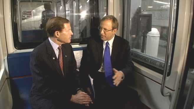 VIDEO of Senator Richard Blumenthal on ABC's 'Subway Series'