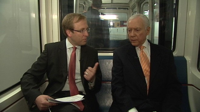 Video of Senator Orrin Hatch on ABCs Subway Series